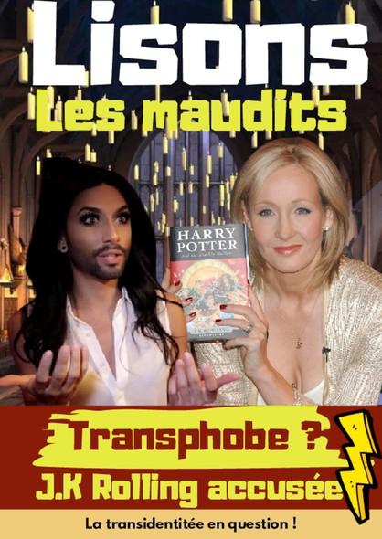 Lisons Les Maudits N°030 - Transphobe ? J.K Rowling accusée