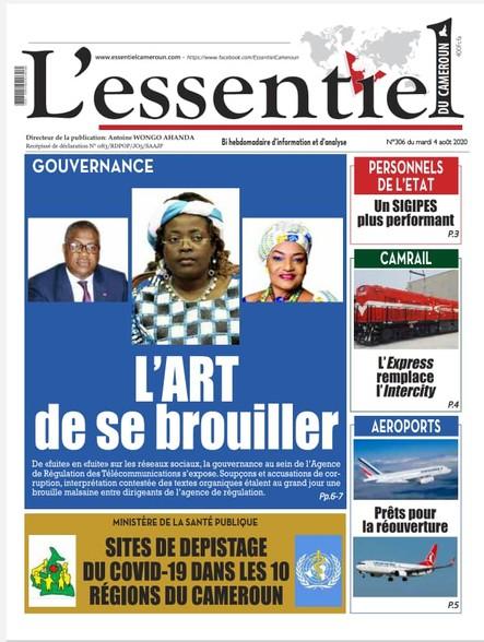 L'essentiel du Cameroun numéro 306