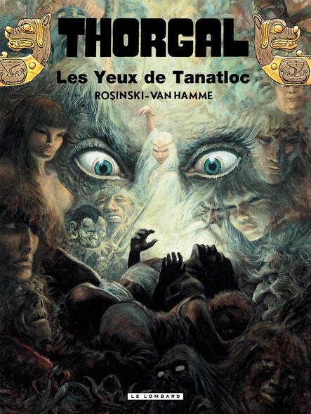 Thorgal - tome 11  Les yeux de Tanatloc