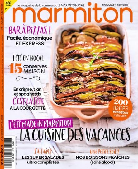 Marmiton - Juillet/Août 2020