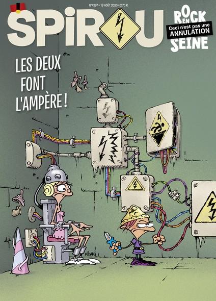 Journal Spirou n°4297