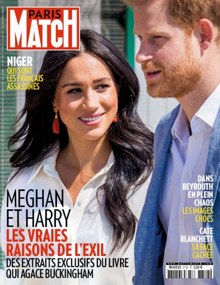 Paris Match N°3719 - Août 2020
