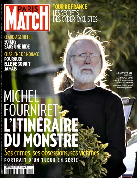 Paris Match N°3721 - Août 2020