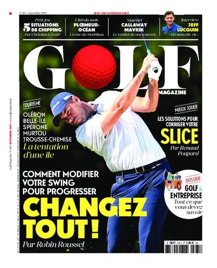 Golf Magazine - Septembre 2020