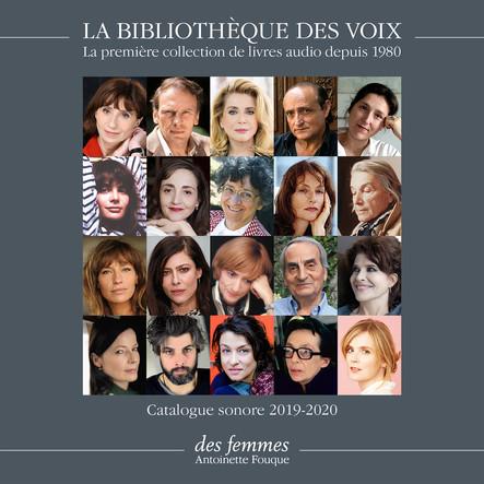 Catalogue sonore La Bibliothèque des Voix 2019-2020