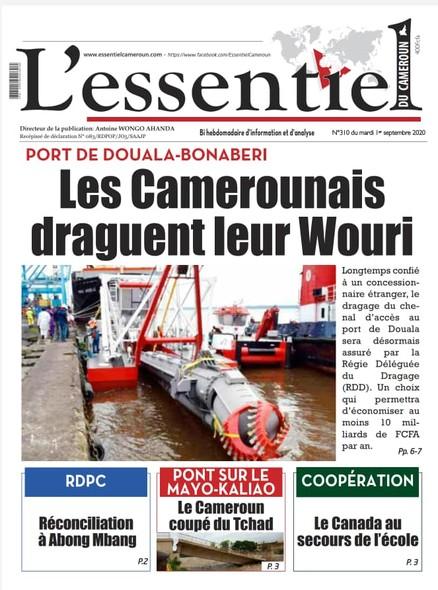 L'essentiel du Cameroun numéro 310