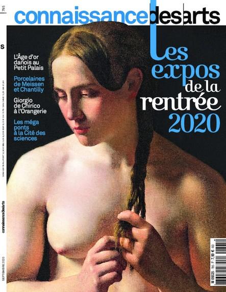 Connaissance des arts - N°795 - Août 2020