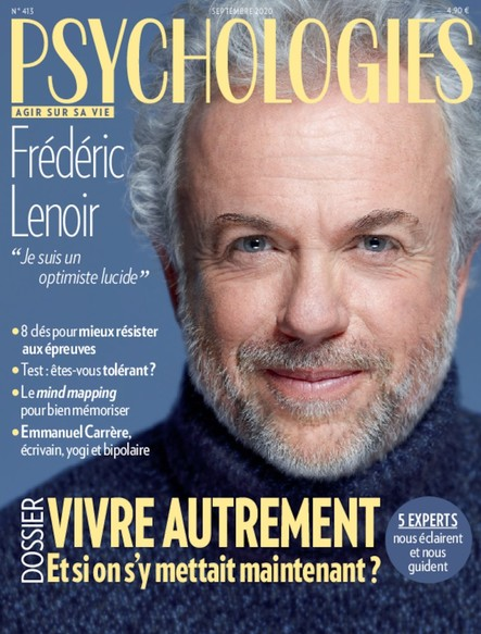 Psychologies Magazine - Septembre 2020