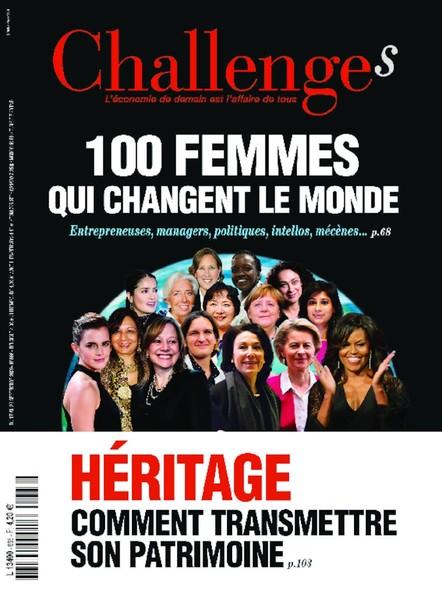 Challenges - Septembre 2020 - 100 Femmes qui changent le monde
