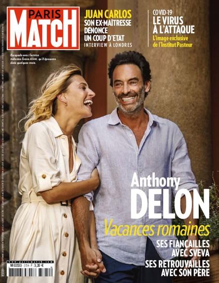 Paris Match N°3724 - Septembre 2020