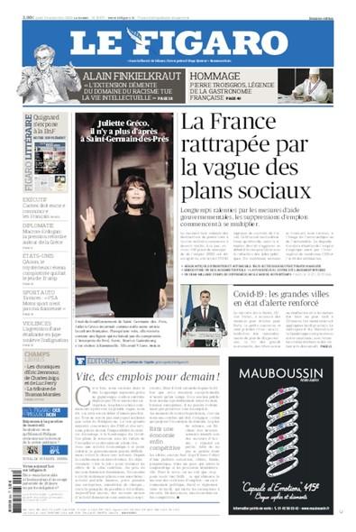 Le Figaro - 24 Septembre 2020