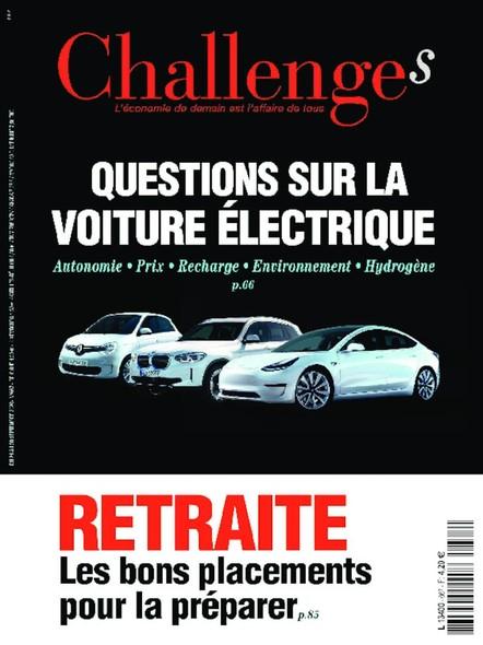Challenges - Septembre 2020 - Questions sur la voiture électrique