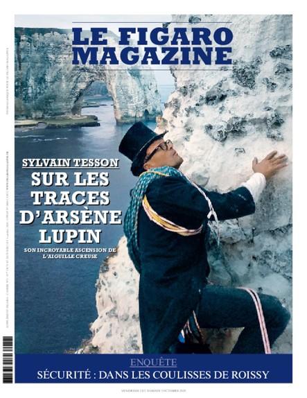 Figaro Magazine : Sur les traces d'Arsène Lupin