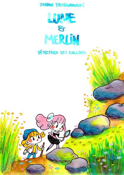 Lune et merlin, détectives des collines
