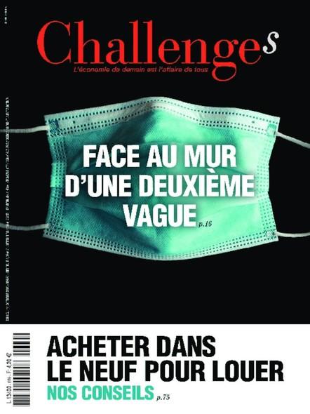 Challenges - Octobre 2020 - Face au mur d'une deuxième vague