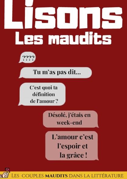Lisons Les Maudits N°038 - Les couples maudits dans la littérature