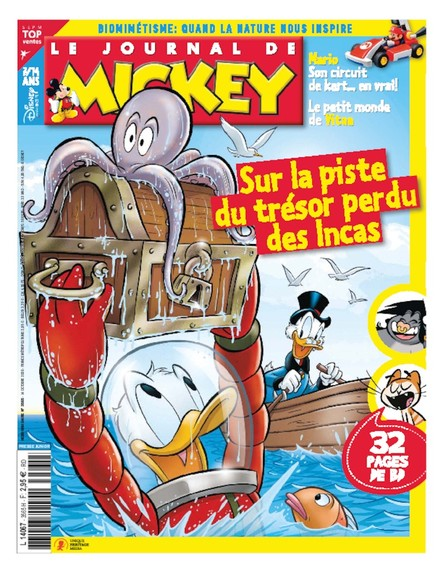 Le Journal De Mickey - 14 Octobre 2020