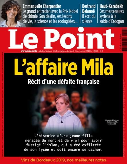 Le Point N°2512 - Octobre 2020