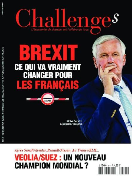 Challenges - Octobre 2020 - Brexit : ce qui va vraiment changer pour les Français