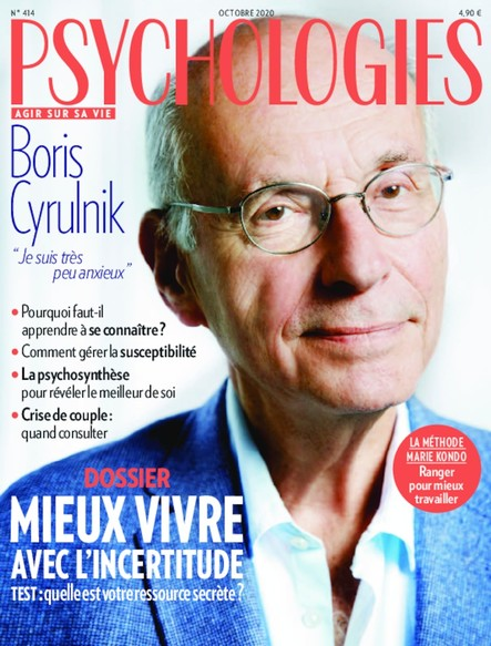 Psychologies Magazine - Octobre 2020