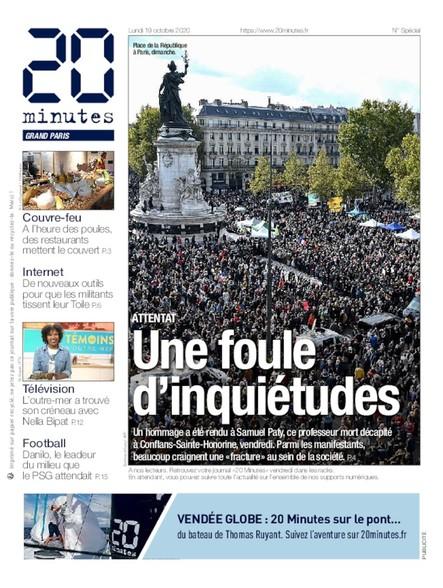 20 Minutes Paris