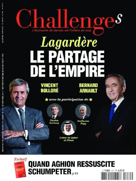 Challenges - Octobre 2020 - Lagardère : le partage de l'empire