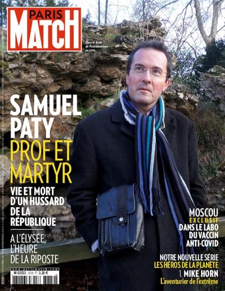 Paris Match N°3729 - Octobre 2020