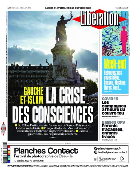 Libération - 24 Octobre 2020