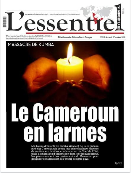 L'essentiel du Cameroun numéro 319