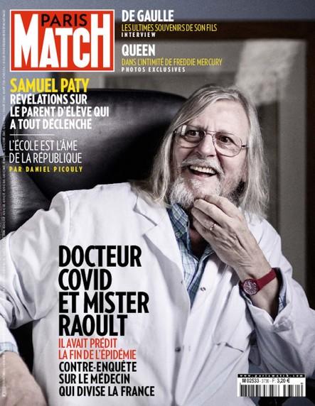 Paris Match N°3730 - Octobre 2020