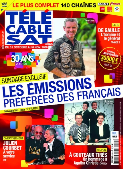 Telecable Sat - N°1591 - 26 Octobre 2020