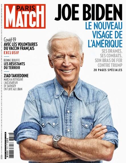Paris Match N°3732 - Novembre 2020