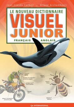 Le Nouveau Dictionnaire visuel junior - français-anglais : Français-Anglais | Jean-Claude Corbeil