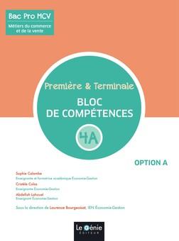 Métiers du commerce et de la vente 1re & Tle Bac Pro MCV  - Bloc de compétences 4A | Sophie Calambe