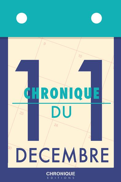 Chronique du 11 décembre