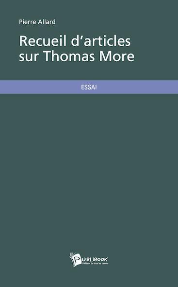Recueil d'articles sur Thomas More