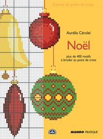 Noël au point de croix : Carnet de point de croix | Aurélia, CÉRULEI