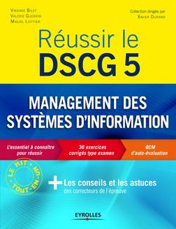 Réussir le DSCG 5 - Management des systèmes d'information | Bilet Virginie