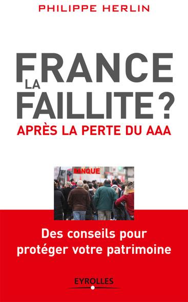 France, la faillite ? : Après la perte du AAA - Des conseils pour protéger votre patrimoine