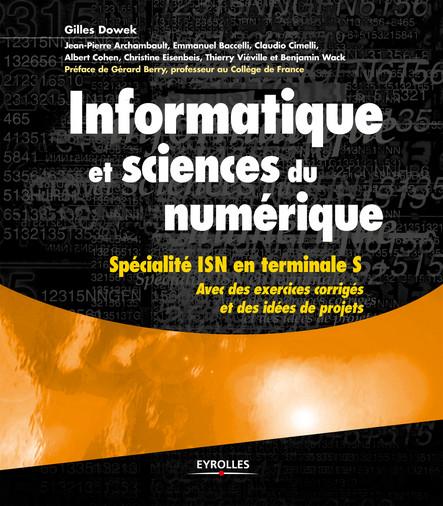 Informatique et sciences du numérique : Spécialité ISN en terminale S