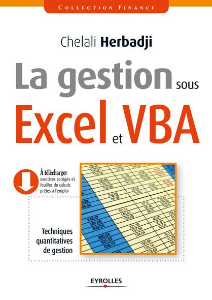 La gestion sous Excel et VBA : Techniques quantitatives de gestion