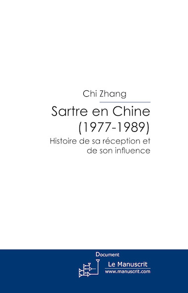 Sartre en Chine (1977-1989)