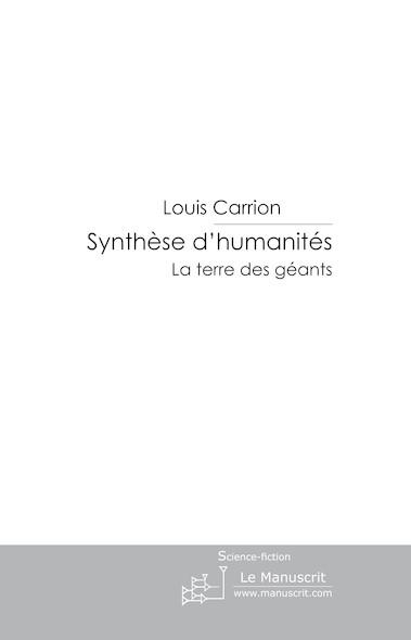 synthèse d'humanités