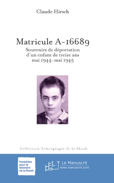 Matricule A-16689