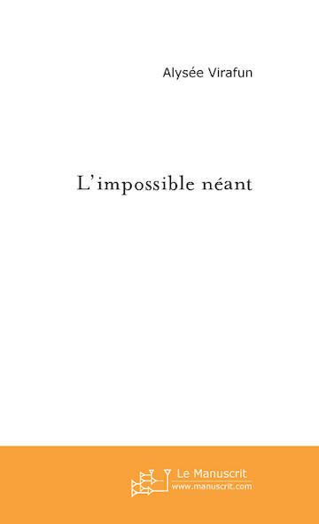 L'impossible néant