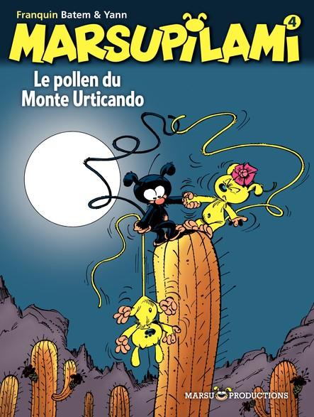 Marsupilami - Tome 4 - Le pollen du Monte Urticando