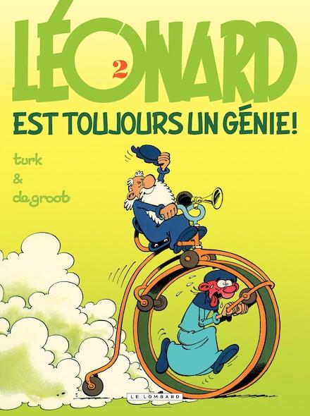 Léonard - Tome 2 - Léonard est toujours un génie !