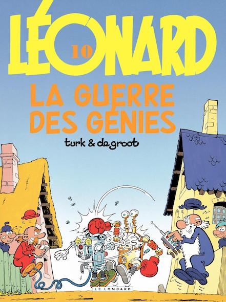 Léonard - Tome 10 - Guerre des génies (La)