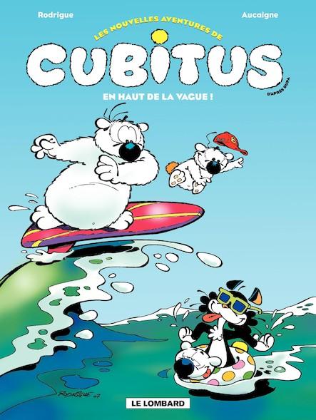 Cubitus (Nouv.Aventures) - Tome 3 - Haut de la vague (En)