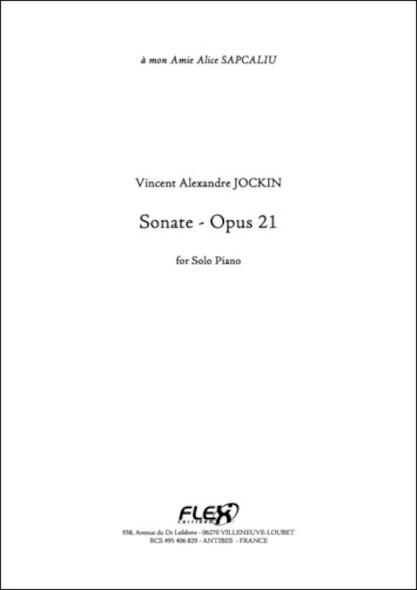 Sonate Opus 21 V. A. JOCKIN Piano Solo